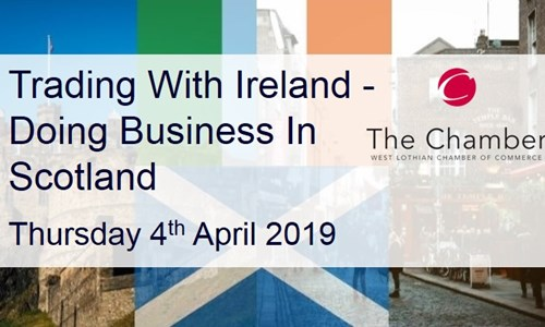 EVENT: Trading with Ireland - Advice & Support (West Lothian Chamber of Commerce)