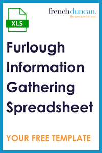 Furlough Information Gathering Template (XLS) Download