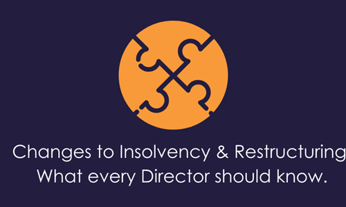 New restructuring legislation every director should be aware of
