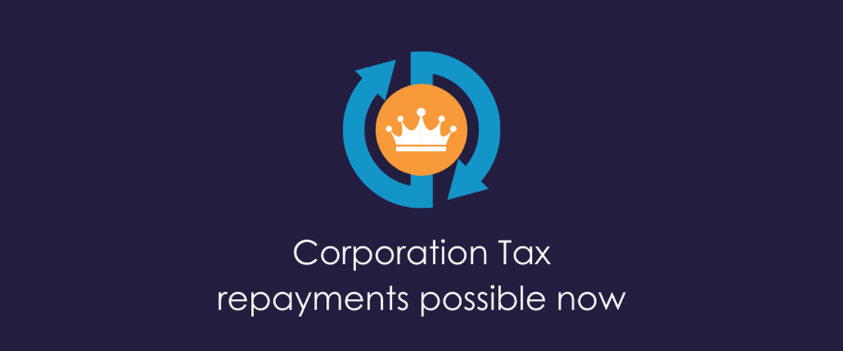 Corporation Tax repayments now available on FORECAST losses