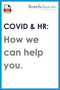 COVID & HR - How we can help you Download