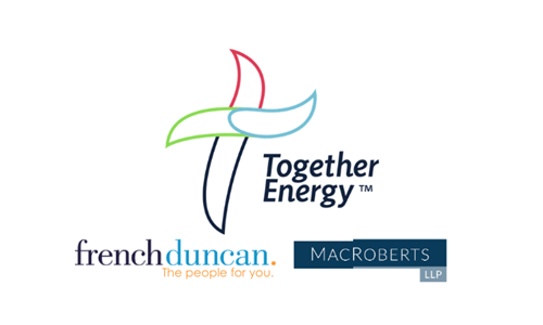 MacRoberts and French Duncan support £14m acquisition deal for Together Energy