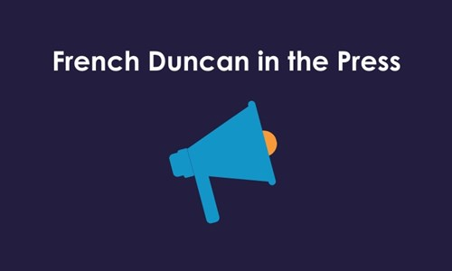 New head of Corporate Advisory leads French Duncan to strong performance during pandemic