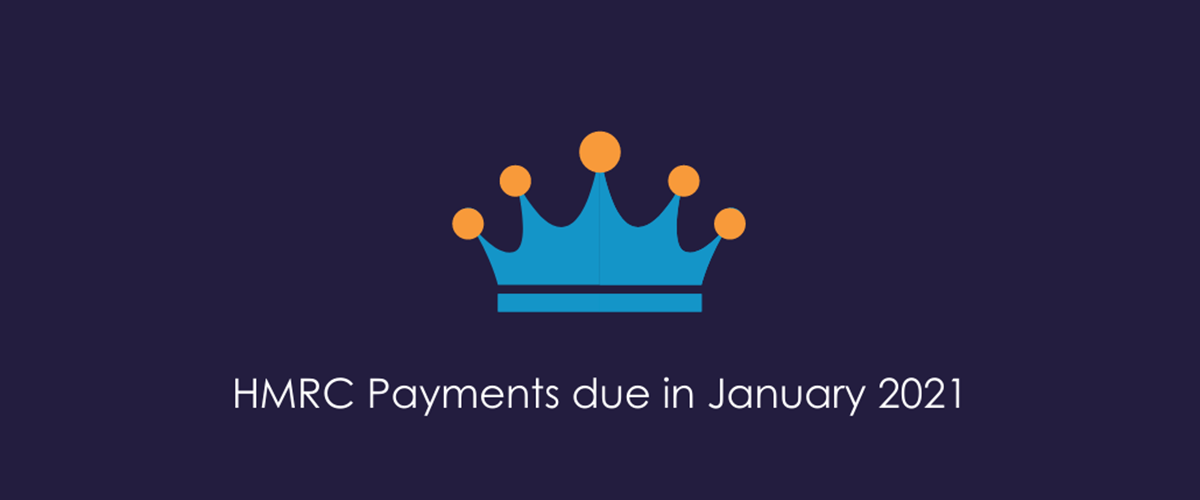 HMRC Payments in January 2021